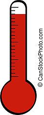 haute température, thermomètre