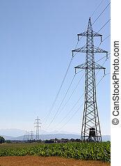 haute tension, électricité