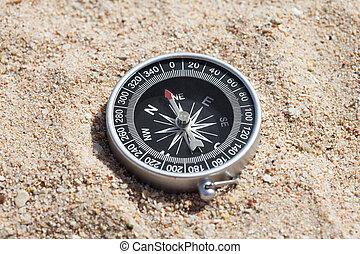 haute vue, angle, compas