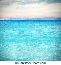hav, bakgrund