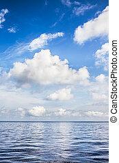 hav, landskab