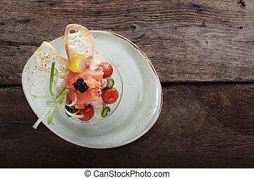 hav mad, igangsætter