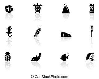 havaí, ícones