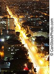Havana at night, Cuba