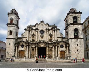 Havana Cathedral: Virgen Maria de la Concepcion Inmaculada....