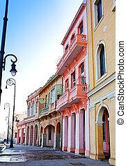 havana., cuba., vieux, rues