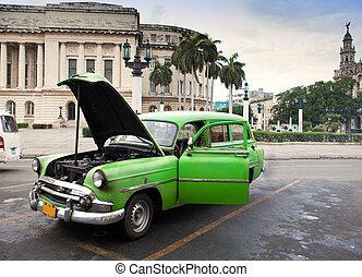Havana. Retro car