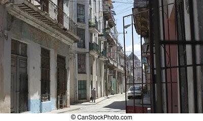 havana street scene, cuba