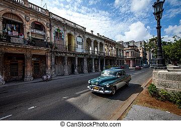 havane, havane, ville, cuba, -, juin, 2011., 7ème, 7th.