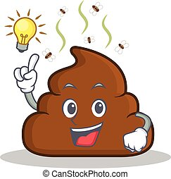 Have an idea Poop emoticon character cartoon
