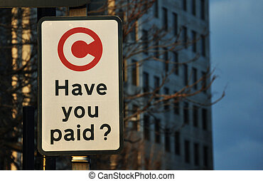 Have you paid sign