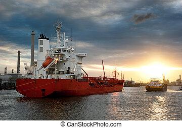 haven, schepen