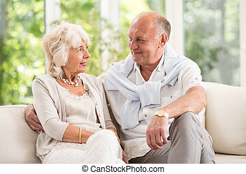 Having romance in old age