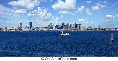havn, boston, sømærke