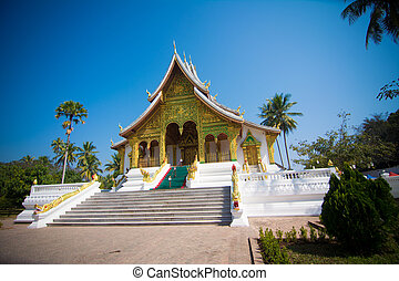 Haw Pha Bang in in Luang Prabang World Heritage, Laos