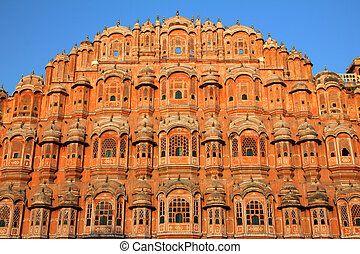 hawa mahal - palace of winds in India