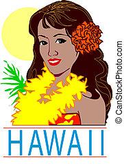 hawai, vector