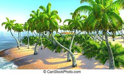hawaiano, paraíso