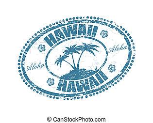hawaii, stämpel