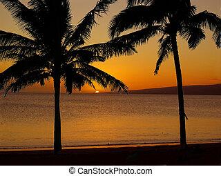 hawaiian , 2 , ηλιοβασίλεμα