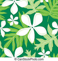 Hawaiian Fern (Lauae) Pattern - Illustration of a seamless ...