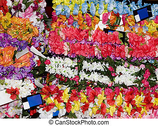 Hawaiian Garlands Background