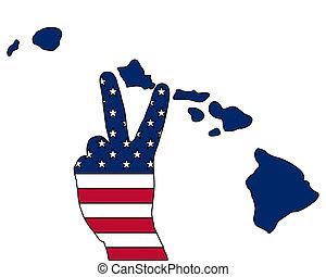 Hawaiian hand signal