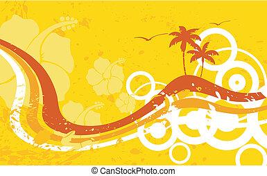 hawaiian tropical beach wallpaper2 - hawaiian tropical beach...