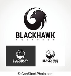 Hawk Logo Symbol. - Suitable for professional design use.