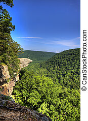 Hawksbill Crag Hiker - This famous place on the Whitaker's ...