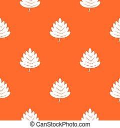 Hawthorn leaf pattern seamless