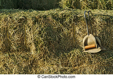 Hay Bails and Bail Hooks