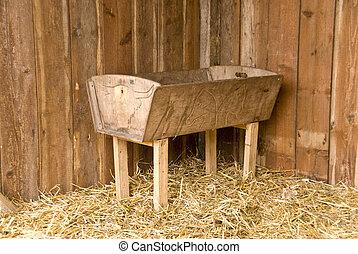 hay rack - photo of a hay rack