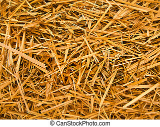 hay. - straw background.