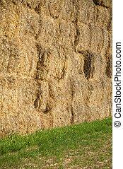 hay wall