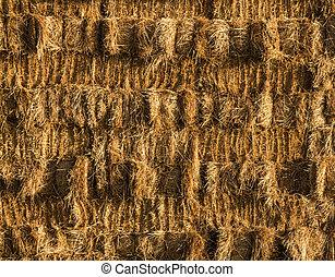 Hay Wall Stack