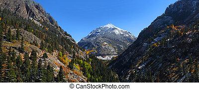 Hayden mountain peak in Colorado