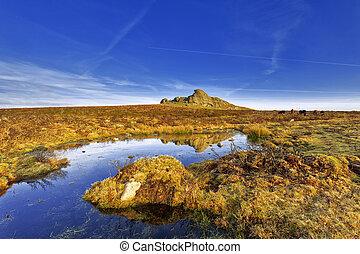 Haytor, Dartmoor National Park, Devon, UK