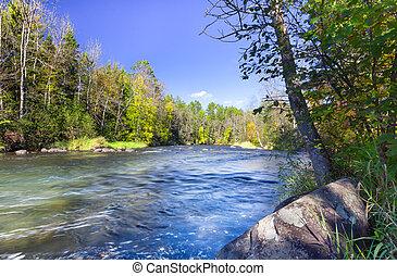 hayward, rivière, wisconsin, namekagon