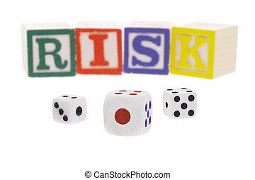 hazárdjáték, kockáztat