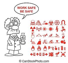 Hazard and danger Graphics