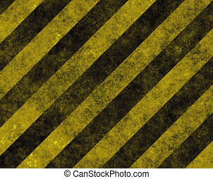 Hazard Danger Background Texture With Common Black and ...