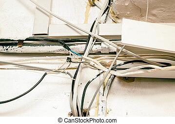 Hazard electrical wiring