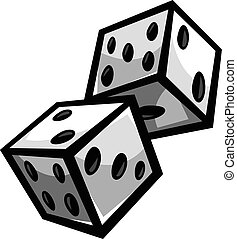hazard, jarzyna pokrajana w kostkę