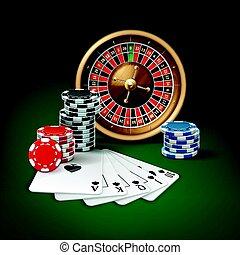 hazard, kasyno, attributes