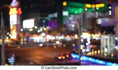 hazard, luksus, ulica, fremont, pas, pieniądze, neon, ...