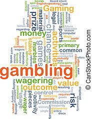 hazard, pojęcie, tło