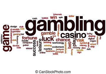 hazard, słowo, chmura