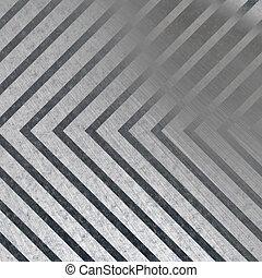 Hazard Stripe Metal