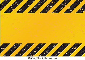 Hazard Stripes Vector